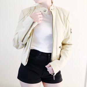 Tommy Hilfiger H Line Soft Suede Leather Jacket